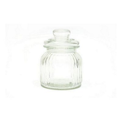 Maxwell & Williams Quality Clear Glass Candystore Canister Sweet Jar 650ml