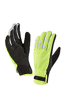 Sealskinz Mens All Weather Cycle XP Glove - Yellow