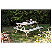 Rowlinson Wooden Picnic Bench, 5ft