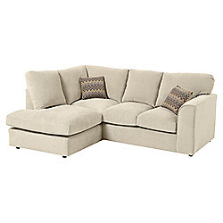 Hardy LH Corner Chaise, Taupe