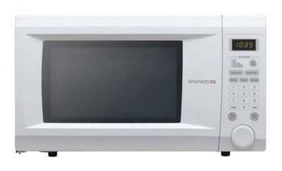Daewoo KOR1NOA 31 Litre 1000W Touch Control Family Microwave - White