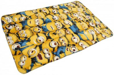 Despicable Me Minions Expressions Panel Fleece Blanket