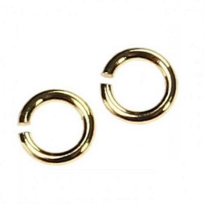 Round Jump Rings 3mm - Gold - 250 Pack