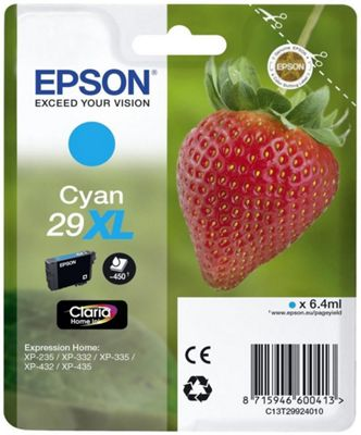 Epson C13T29924022 6.4ml 450pages Cyan ink cartridge