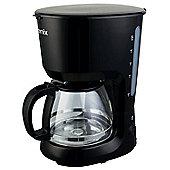 Igenix IG8127 Filter Coffee Maker, 1.25 Litre, Black