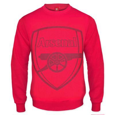 Arsenal FC Mens Sweatshirt Red 3XL