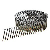 Bostitch 3.1 x 90mm Coil Nails Ring Shank Galvanised Pack of 4,050