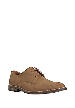 F&F Lace-Up Gibson Shoes - Tan