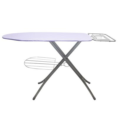 Morphy Richards Ironing Board with with Garment Rack, Purple