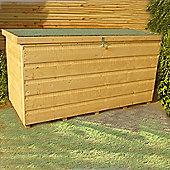 Garden Storage Box 4x2ft in Wood by Finewood