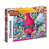 DreamWorks Trolls Glitter Puzzle (104 Pieces)