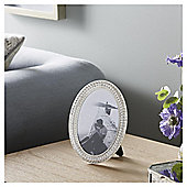 Fox & Ivy Diamante Oval Shaped Photo Frame