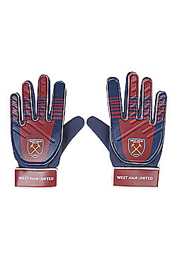West Ham United FC Goalkeeper Gloves - Blue