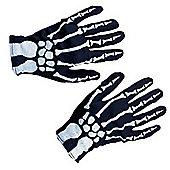 Rubies - Child Skeleton Gloves 1