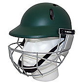 Woodworm Cricket Select Mens Adult Cricket Helmet - Green