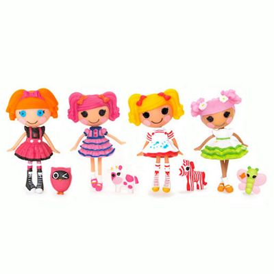 Mini Lalaloopsy Dolls 4 Pack - Set 16