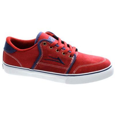 Lakai Carlo Red Suede Shoe