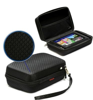 Navitech Black Hard Carry Case For The Garmin Nuvi 2519 LM