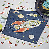 Space Adventure Napkins - Paper - 20 Pack