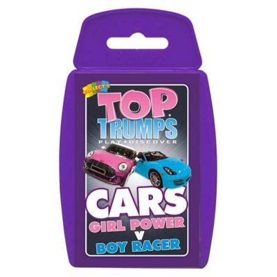 Top Trumps Cars - Girl Power Vs Boy racer