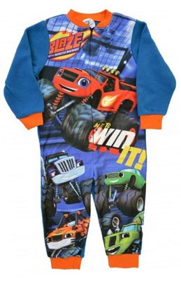 Blaze and The Monster Machines Boys 'Fleece' Jumpsuit 4-5 Years