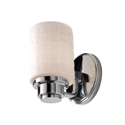 Polished Chrome 1lt Wall Light - 1 x 3.5W LED G9, 320Lm, 3000k