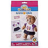 """Build A Bear Workshop Sassy Style Outfit """"Purple"""""""