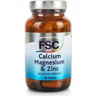 Fsc Calcium, Magnesium & Zinc 90 Tablets