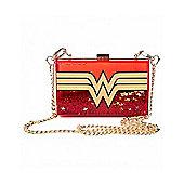 Wonder Woman Glitter Cross Body Bag