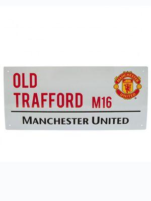 Manchester United FC 'Sir Matt Busby Way' Street Sign