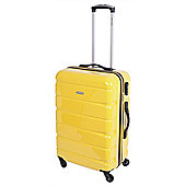 Pierre Cardin Vitus Medium Trolley Case - Yellow