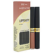 Max Factor Lipfinity Colour Lipstick / Lip Gloss Glowing - 016