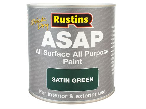 Rustins Asap Paint Red 500Ml