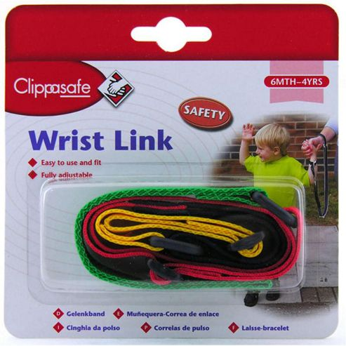 Clippasafe Wrist Link Coloured