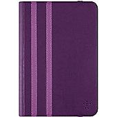 "Belkin Carrying Case (Folio) for 20.3 cm (8"") iPad mini, iPad mini 2, iPad mini 3, iPad mini 4, Tablet - Purple"