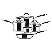 Circulon Momentum Induction Stainless Steel Non Stick 5 Piece Pan Set