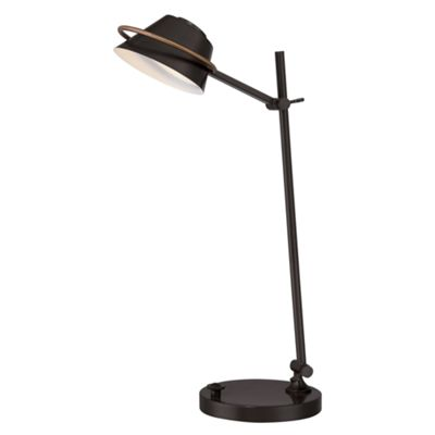 Western Bronze Desk Lamp - 7W LED (lamps included)