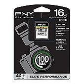 PNY 16GB SDHC Class 10 memory card
