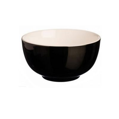 Price & Kensington Brights Bowl, Stoneware, 14 cm, (Black)