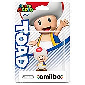 Toad amiibo Super Mario Collection