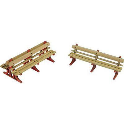 Oo Gauge Platform Benches Card Kit