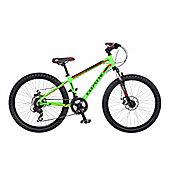 """Coyote Zero 24"""" Boys Disc Aluminium Mountain Bike"""