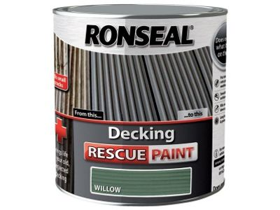 Ronseal Decking Rescue Paint Willow 2.5 Litre RSLDRPW25L