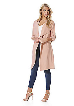 F&F Waterfall Jacket - Blush pink