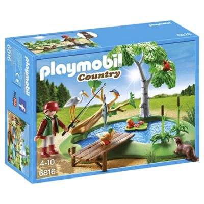 Playmobil 6816 Country Fishing Pond
