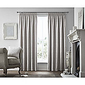 Curtina Voysey Silver Pencil Pleat Curtains - 90x72 Inches (229x183cm)