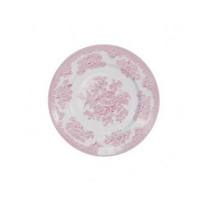 Burleigh Pink Asiatic Pheasant Tea Plate 17.5cm