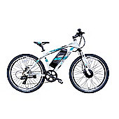 Viking Advance, 26 Wheel 7 SPEED Electric Bike White