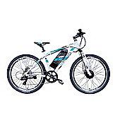 """Viking Advance 36, 26"""" 17"""" 7 SPEED Electric Bike White"""