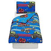Blaze Vroom Junior Toddler Duvet Cover and Pillowcase Set